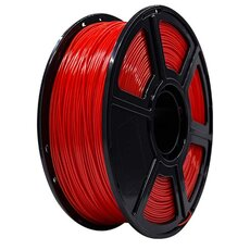 PLA Flashforge Rot TRANSPARENT 1,0kg 1,75mm