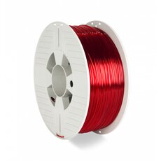 PET-G Verbatim Rot Transparent 1,0kg 1,75mm